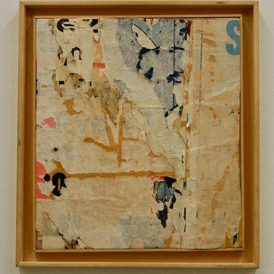 Mimmo Rotella, 'Con l'angolo', 1959
