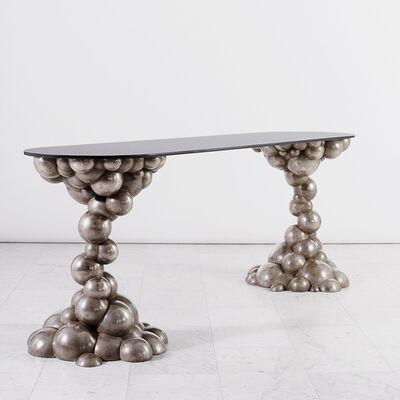 Erin Sullivan, 'Silvered Bronze Bubble Console', 2016