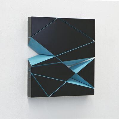 Beat Zoderer, 'Mono-Block Türkis No. I/IV', 2021