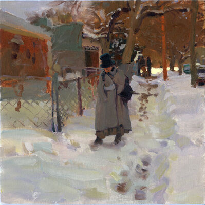 Kim English, 'Tracks in the Snow', 2021