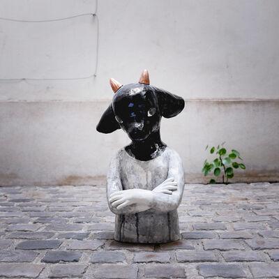 Clémentine de Chabaneix, 'Goat bust', 2018