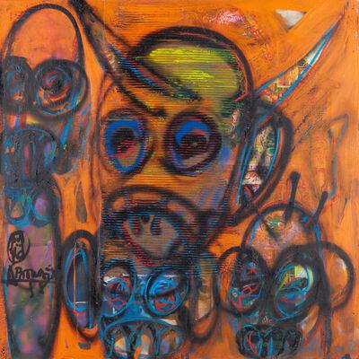 Aboudia, 'L'homme a la corne', 2020