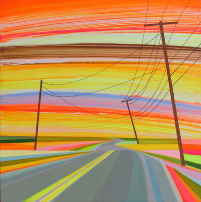 Grant Haffner, 'Into the Sunset, Cranberry Hole Road', 2018
