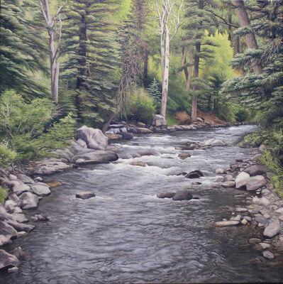 Garrett Middaugh, 'Rainy Day on the Pecos River'