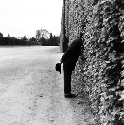 Rodney Smith, 'Jonah with Head in Hedge No. 1, Vienna, Austria', 1998