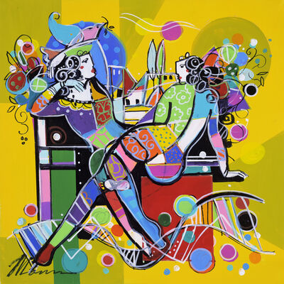 Isaac Maimon, 'Leisure In Yellow', 2017