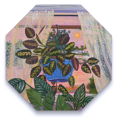Anna Valdez, 'Window View and a Hanging Prayer', 2020