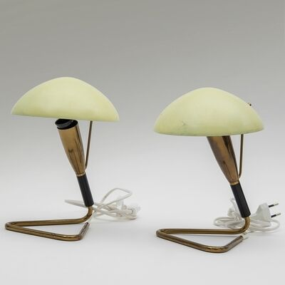 Stilnovo, 'A pair of table lamps', 1950's
