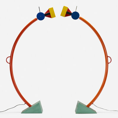 Ettore Sottsass, 'Treetops floor lamps, pair', 1981