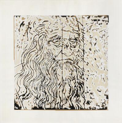Mario Schifano, 'Leonardo Da Vinci', circa 1980