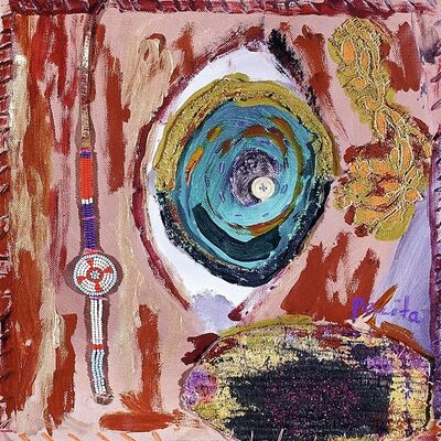 Pacita Abad, 'Spice Souk entrance', 1998