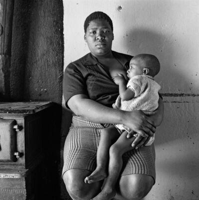 David Goldblatt, 'Queen Monyeki in her kitchen, 1388A White City, Jabavu, Soweto', 1972