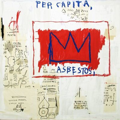 Jean-Michel Basquiat, 'Untitled (Per Capita)', 1983/2001