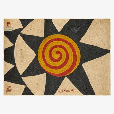 After Alexander Calder, 'Wall-hanging tapestry, Star, Guatemala', 1975