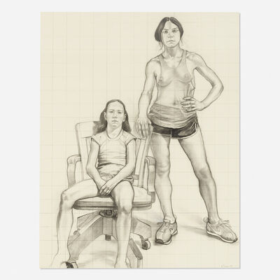 William Beckman, 'Study for Diana and Dierdre', 1979