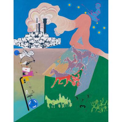Gérard Guyomard, 'Naissance du centaure', 1969