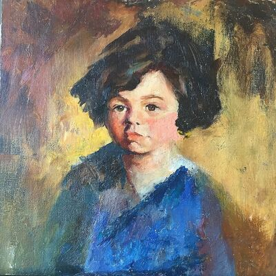Margery Austen Ryerson, 'Portrait of a Young Girl'