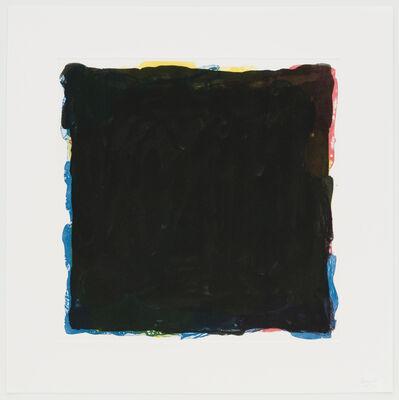 Sol LeWitt, 'Red, Yellow, Blue & Black Irregular Squares Superimposed', 1994