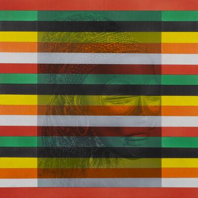 Rico Gatson, 'Mask Painting #2', 2018