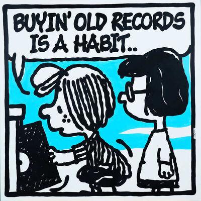 Mark Drew, 'Old Records (Diamond D, Yo Beatnuts!)', 2019