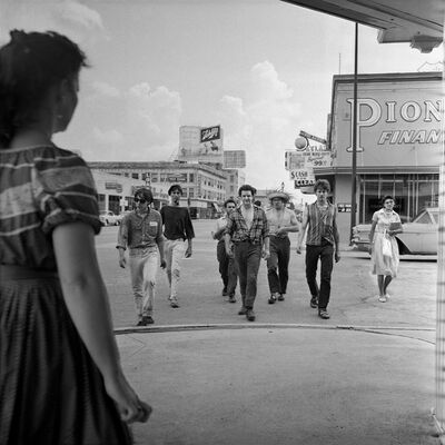 Larry Fink, 'Houston, TX', 1958