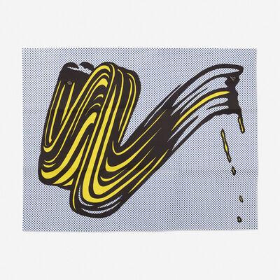 Roy Lichtenstein, 'Brushstroke (Castelli mailer)', 1965