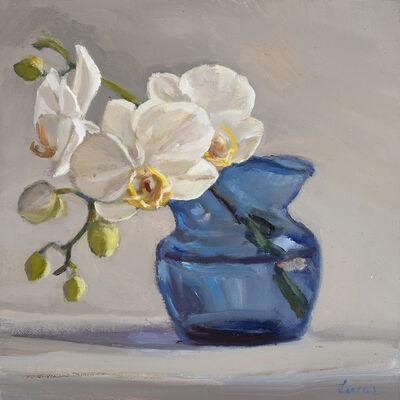 Maryann Lucas, 'Orchid in Bud Vase', 2018