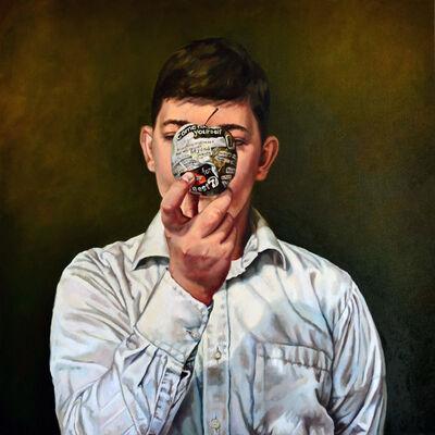 Anca Danila, 'Accessing my own status', 2015