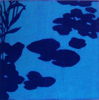 Isabel Bigelow, 'waterlilies (blue)', 2012