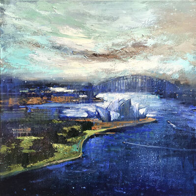 David Hinchliffe, 'Opera House and The Bridge', 2019