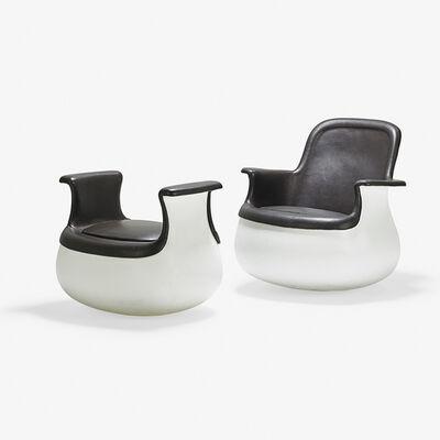 Marc Held, 'Culbuto Lounge chair and ottoman, France/USA', ca. 1970