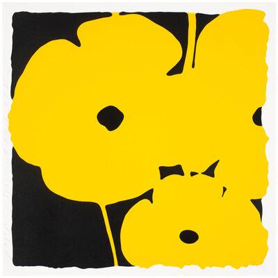 Donald Sultan, 'Poppies (Yellow)', 2011