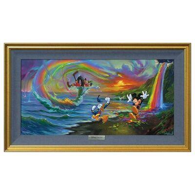 Jim Warren, 'Mickey and the Boys at Rainbow Falls', 1990-2020