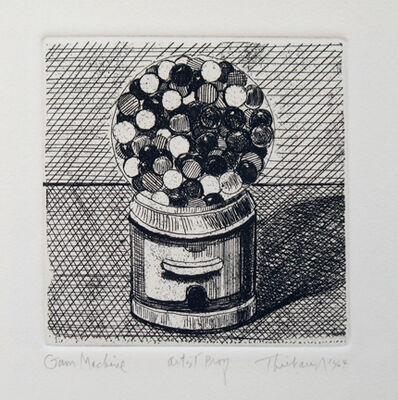 Wayne Thiebaud, 'Gum Machine, from the series, Delights', 1964