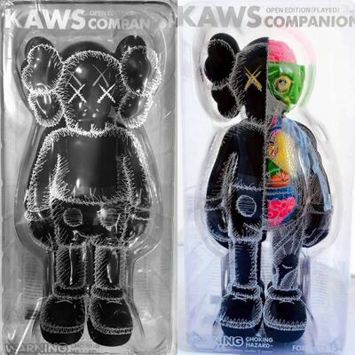KAWS, 'KAWS Black Companion: Set of 2 (KAWS Companion black)', 2016
