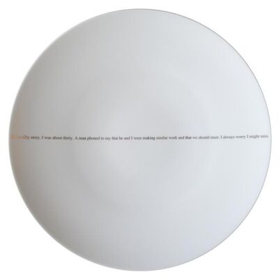 Sophie Calle, 'The Pig (set of 6 dinner plates)', 2013