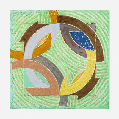 Frank Stella, 'Polar Co-Ordinates IV', 1980