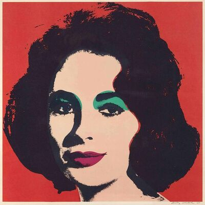 Andy Warhol, 'Liz II.7', 1965
