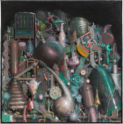 Jerry McLaughlin, 'Untitled (Machinery)', 1985