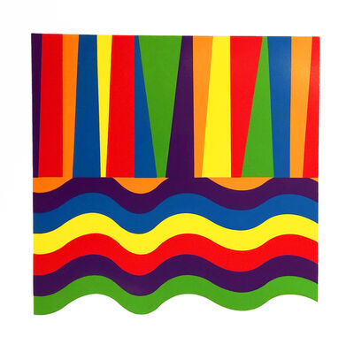 Sol LeWitt, 'Arcs and Bands in Color C', 1999