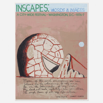 Philip Guston, 'Inscapes: Words and Images', 1977