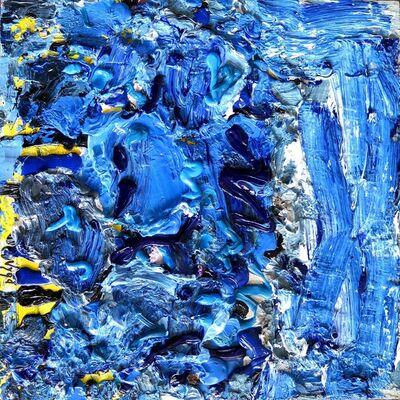 Vigintas Stankus, 'Blue Town', 2016