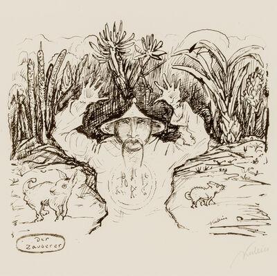 Alfred Kubin, 'The Sorcerer', 1920