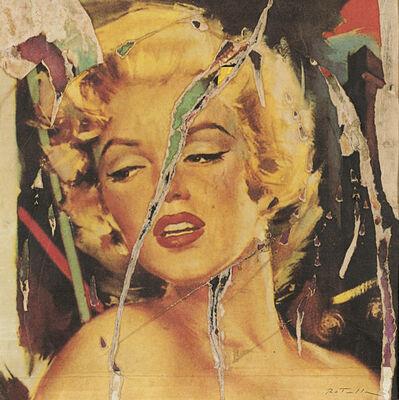 Mimmo Rotella, 'Sensuale', 1990