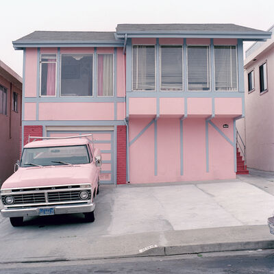Jeff Brouws, 'Pretty in Pink, Daly City, CA', 1991