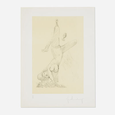 Claes Oldenburg, 'Woman Hanging in Imitation of the Soft Fan (Edition A)', 1976