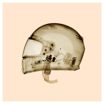 David Arky, 'Bell Helmet - Warm', 2019