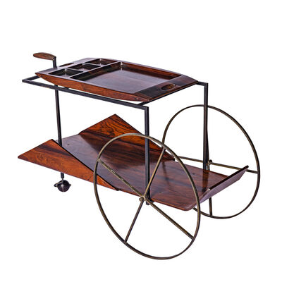 Jorge Zalszupin, 'Tea Trolley', 1950s