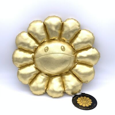 Takashi Murakami, 'Flower Cushion (Gold)', 2019