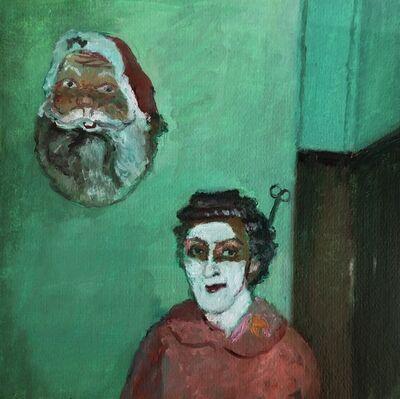 Clare Menck, 'Masked xmas', 2019